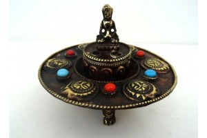 Small Copper Incense Burner