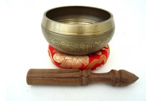 13 cm Etched Singing Bowl