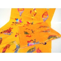 Delux Offering Scarves (Kata) - Orange