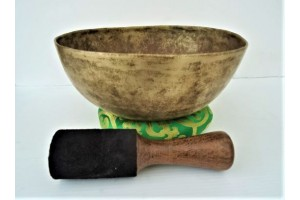 24 cm Old Hammered Singing Bowl