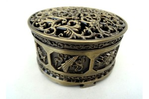 Round Incense Burner