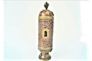 Copper Incense Tower