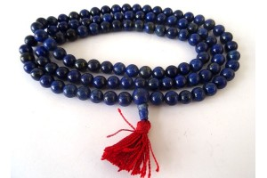 Lapis prayer beads