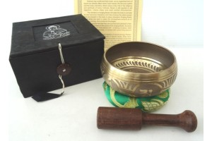 08cm Windhorse Meditation Singing Bowl