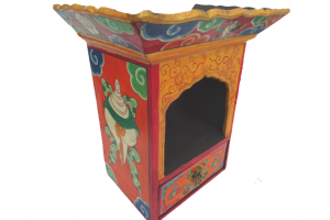 Wooden Shrine Box