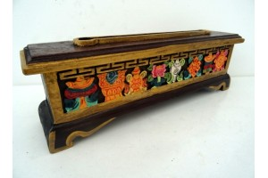 Carved Wooden Incense Burner