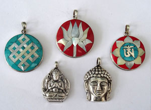 BUDDHIST JEWELLERY
