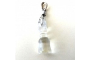 Silver and Himalayan crystal bell