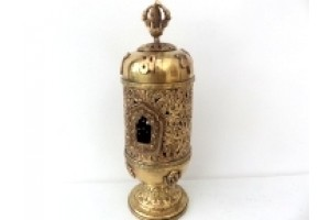 Brass Incense Tower