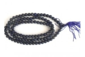 Lapis prayer beads small