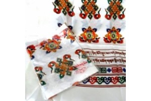 Offering Scarves White