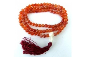 Small Carnelian Prayer Beads