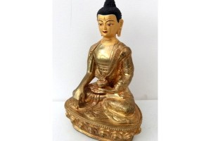 Fine Gold Plated Buddha